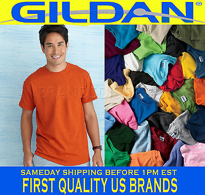 T Shirts for Screen-printing 50  T-SHIRTS BLANK  Colors or 50 White Plain S-XL