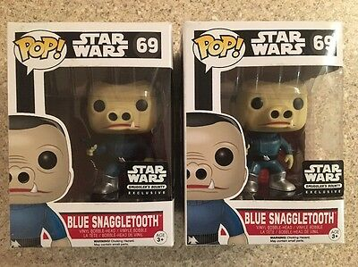 1 x Funko Pop! Star Wars - SMUGGLER'S BOUNTY - BLUE SNAGGLETOOTH CHASE #69