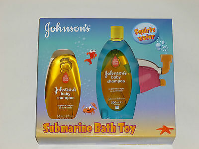 Johnson's Baby Shampoo And Limited Edition Submarine Bath Toy Gift Set