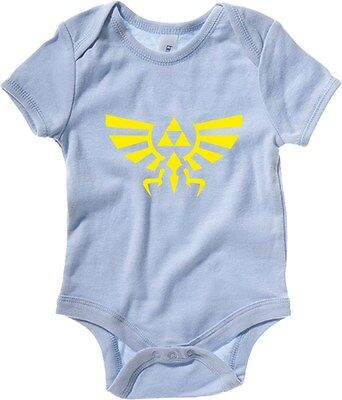 Baby Bodysuit TGAM0091 Zelda Triforce