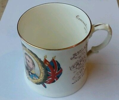 1911 Harrods King George V Coronation Mug