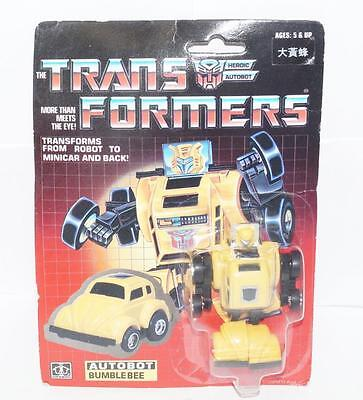 Bumblebee MOSC Sealed New 1991 Chinese Vintage G1 Transformers Action Figure
