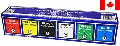 Elenco Solid Hook-Up Wire Kit 6 Colors in A Dispenser Box # WK-106