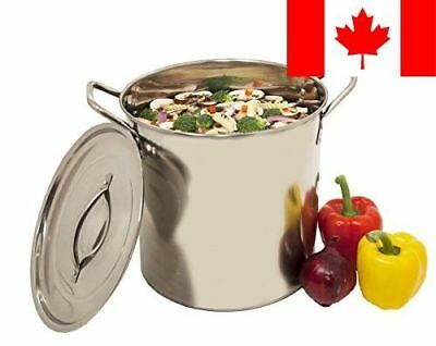 Heuck H36010 Stainless Steel Stockpot, 20-Quart