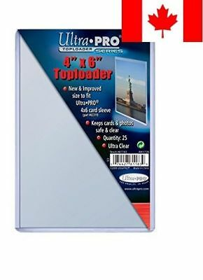 Ultra Pro 4 x 6 Top Loaders (25 Pack)