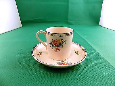 Vintage J&G Meakin  Sol Coffee Can and Saucer