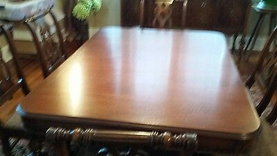 Mahogany Antique Dining Room Set 9 Pieces, Used, Excellent Condition
