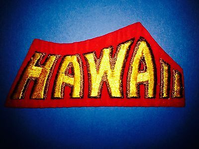 Hawaii USA Iron On Hat Jacket Hoodie Biker Vest Backpack Travel Patch Crest C
