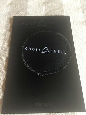 Ghost In The Shell Movie Promo Patch Stan Lee Comikaze 2016 Scar-Jo