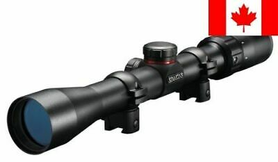 Simmons .22 Mag TruPlex Reticle Rimfire Riflescope with Ring, 3-9x32mm (Matte)