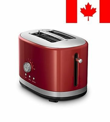 Whirlpool Canada KitchenAid 2-Slice Toaster with High Lift Lever-Empire Red
