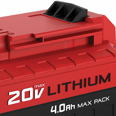 Porter-Cable PCC685L 20V MAX 4.0 Ah High-Performance Lithium-Ion Battery