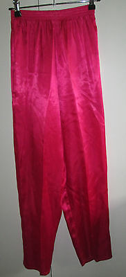 Vintage Top Girl Size 14 Bright Pink Lounge Pants Sleepware Australian Made Pj