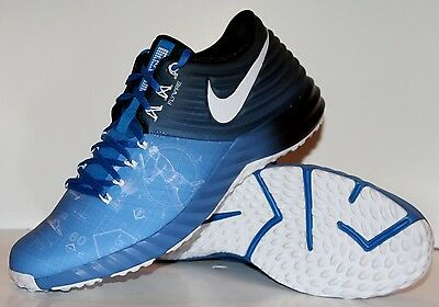 NEW NIKE LUNAR TROUT 2 BLUEPRINT TURF Baseball Trainers Mens 13 RARE 807122-414