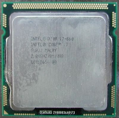 Intel Core i7-860 2.8GHz LGA-1156 Desktop CPU Processor SLBJJ W/ Warranty