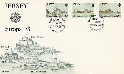Jersey First Day Cover , 1978  Europa