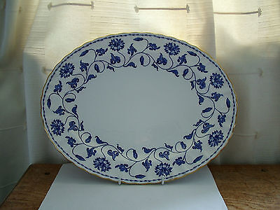 """Spode Blue Colonel Y6235  Very Large Oval Plate Platter 14.5"""""""