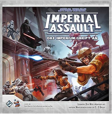 Star Wars: Imperial Assault - Das Imperium greift an | Grundspiel, Deutsch Neu