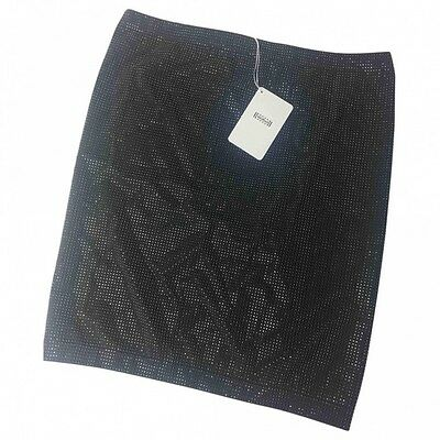 Wolford  Glitter  Skirt Limited Edition   , Black,  Medium Size, Nwt Rrp £350