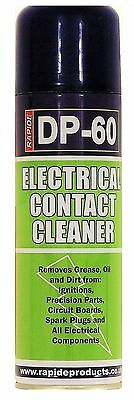 DP-60 Electrical Contact Cleaner Spray Remove Grease Oil and Dirt 250ml Offer x