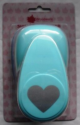 """Woodware Super Punch - 2"""" (50mm) Heart - 830-02"""