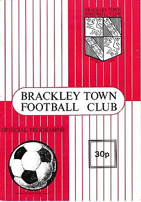 Brackley Town V Stamford - United Counties League - 18/9/93