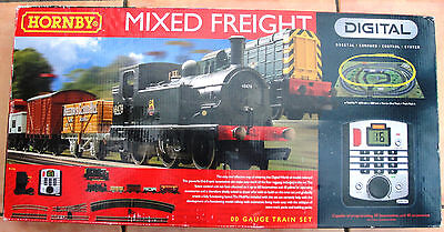 Hornby Mixed Freight Digital Train Set NEW Unused