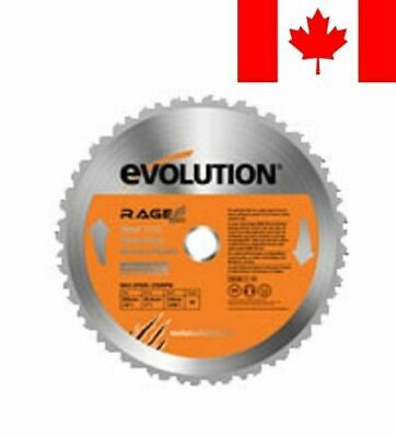 Evolution Power Tools 10-Inch Multi-Purpose Cutting Blade for RAGE3