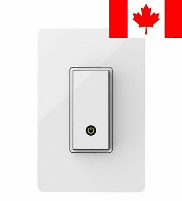 WeMo Light Switch, Wi-Fi Enabled, Compatible with Amazon Echo