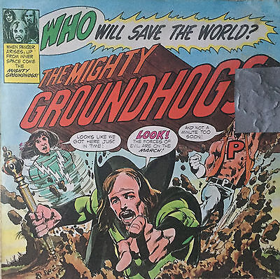 GROUNDHOGS Who Will Save The World 1972 (Vinyl LP)