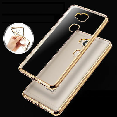 Coque Housse Etui Crystal Souple Silicone TPU Transparent Protection Pour Huawei