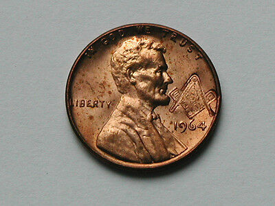 Masonic Emblem Counterstamped 1964 Lincoln Cent Novelty Coin Countermarked Penny