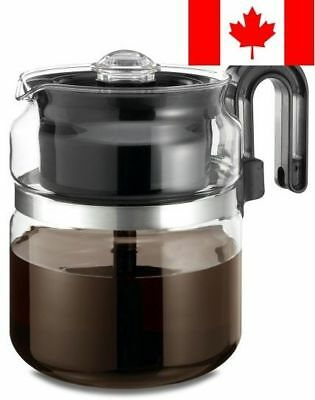 One All 8 Cup Glass Stovetop Percolator