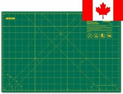Olfa 24-Inch by 36-Inch Double-Sided, Self-Healing Rotary Mat, Green