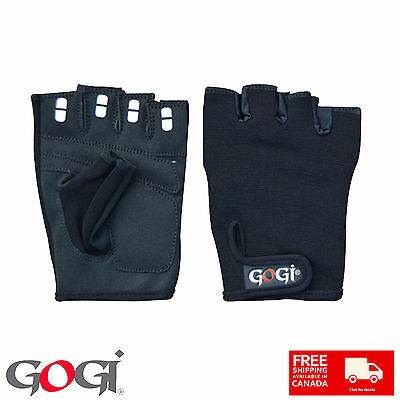 Fingerless Body Building Training Fitness Gloves Sports Weight Lifting Exercise