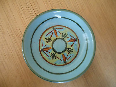 Lovely Dee Cee Pottery Decorated Dish