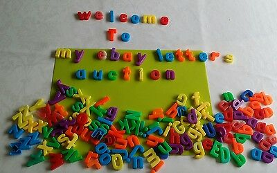 ELC Bundle of used Magnetic Letters over 150 pieces in total Learning preschool