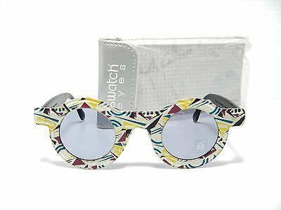 Swatch Eyes Retro Sunglasses Vintage Toy For Joy Sw 713 001 New Old Stock