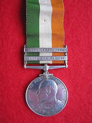 MEDALS:  ORIGINAL - KING'S SOUTH AFRICA 1902 MEDAL to 5313 Sergt E. Kearns !!