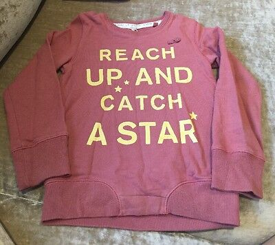 Next Girls 5 Years Age Long Sleeved Jumper Star