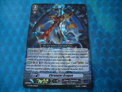 Cardfight Vanguard Chronojet Dragon G-TD01/002EN (RRR)