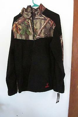 New Huntworth Camo Oak Tree Pull Over Jacket Size large