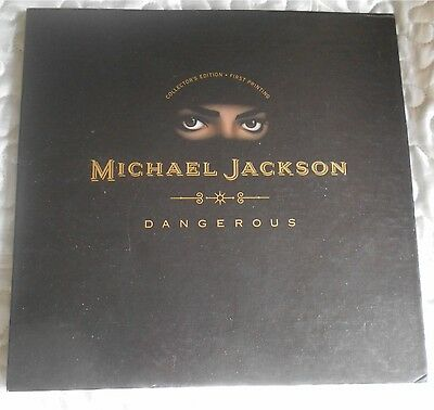 Michael Jackson Dangerous 1991 Pop Up - Collector's Edition - First Printing