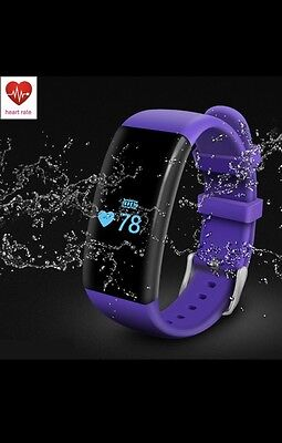 FIT SMART WATCH BIT 2 Waterproof Activity  STEP TRACKING WRISTBAND CALORIE