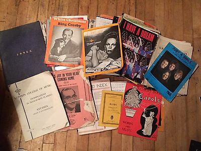 scores music job lot collection 1940s-1980s huge 100 +  CLASSICS PLAY THEATRE