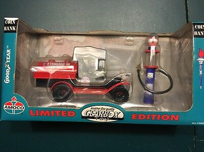 Standard Oil Co. 1918 Ford Runabout Pickup Truck Coin Bank By Gearbox