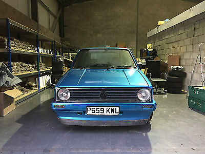 VW GOLF MK1 1.3 Malibu Blue