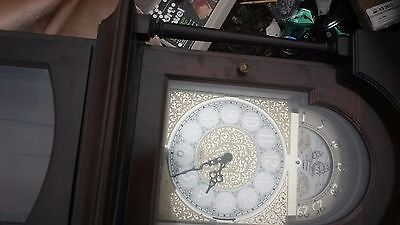 BEAUTIFUL Ridgeway Grandfather Clock   FOR PARTS OR RESTORATION