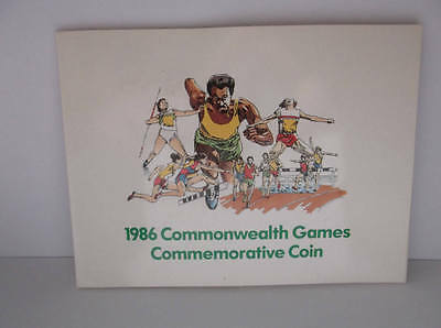 1986 Royal Mint £2 Two Pounds; Commonwealth Games; sealed in sleeve; FREE UK pp