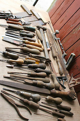 Vintage Tool Lot Collection Spares or Repair free PP  (#AY)